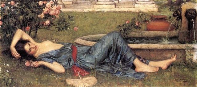Sweet Summer, 1912, John William Waterhouse