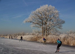 credits:  ice skating in The  Netherlands
