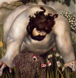 christ-in-the-wilderness stanley spencer