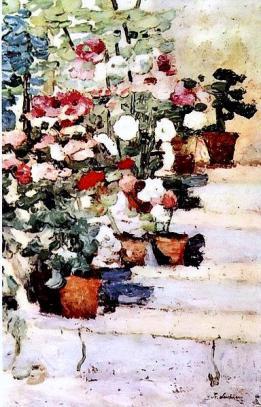 flowers-on-stairs-stefan lucian