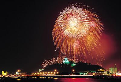 Nagoshi Festival Fireworks