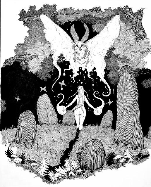 moth-woman
